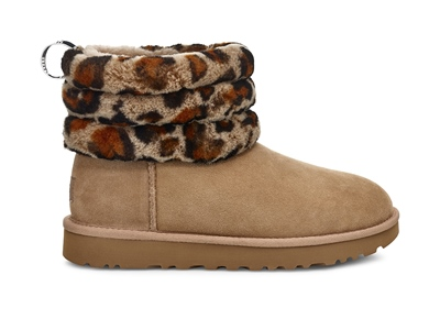 UGG  Fluff Mini Quilted Leopard Amphora