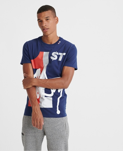 SUPERDRY T-Shirt BRKLYN 1ST Tee Herren