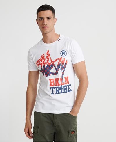 SUPERDRY T-Shirt BKLYN Tribe Tee Herren