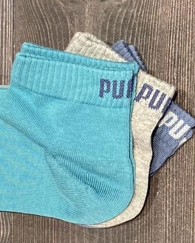 PUMA  Quarter Socken 3er Pack
