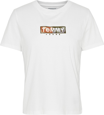 TOMMY JEANS Camo Square Logo T-Shirt