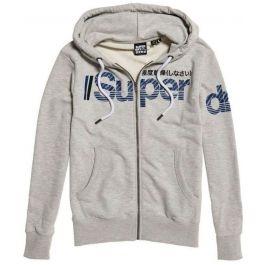 SUPERDRY Core Split Logo Zip Hood Herren
