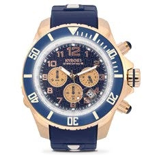 KYBOE!  Chrono Rose Navy