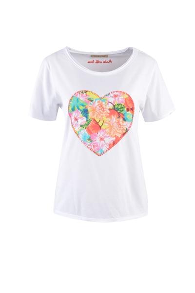 SMITH & SOUL Shirt Heart Damen