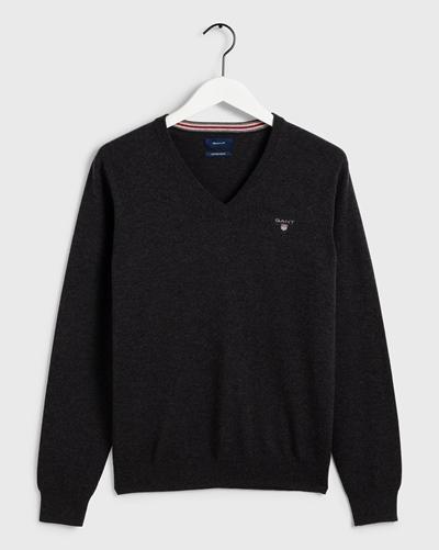 GANT Pullover Cotton Wool V-Neck
