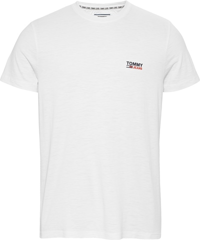 TOMMY JEANS Texture Logo T-Shirt Herren