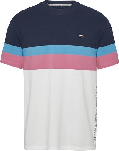TOMMY JEANS T-Shirt Colour Block Herren