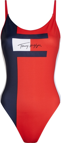 TOMMY HILFIGER Color Block-Badeanzug