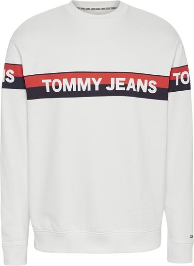 TOMMY JEANS  Logo-Sweatshirt Herren