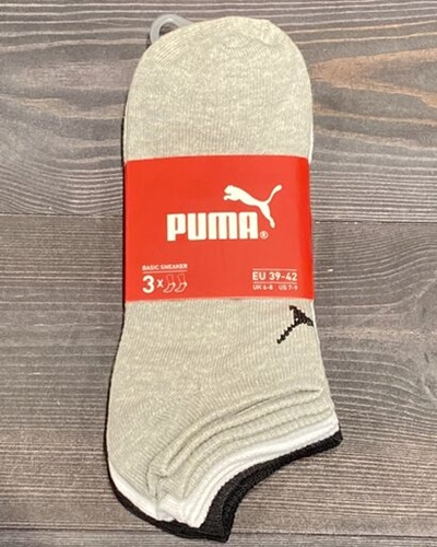 PUMA Sneaker Socken 3er Pack