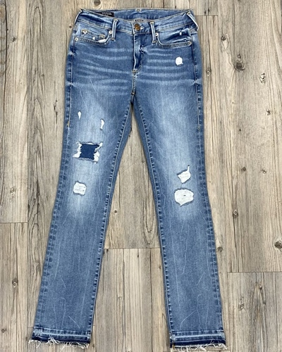 TRUE RELIGION Halle Modfit Long Damen