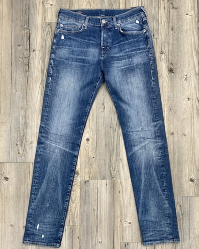 TRUE RELIGION Rocco Blue Light Destroywd