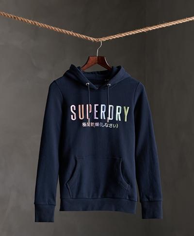 SUPERDRY SB Rainbow Entry Hood UB Damen