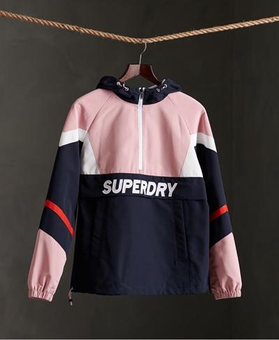 SUPERDRY Colour Block Overhead Jacke