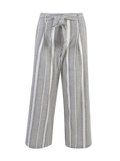 SMITH & SOUL Striped Linen Pants Damen