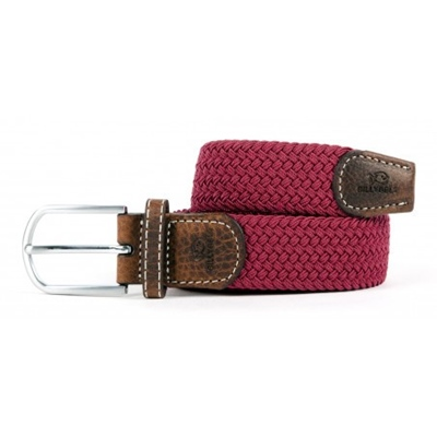 BILLYBELT Stretchgürtel Burgundy