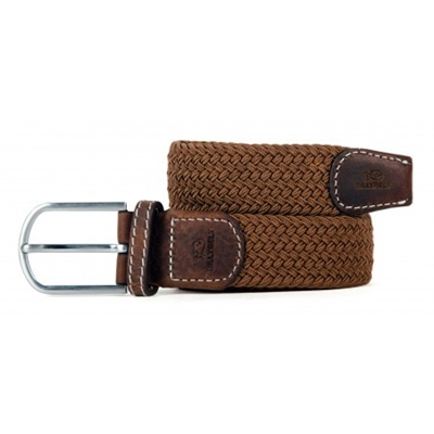 BILLYBELT Stretchgürtel  Camel Brown