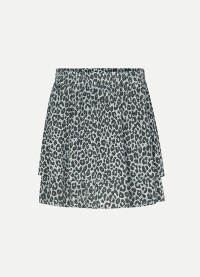 Juvia VI Crepe Skirt Ocean Leo