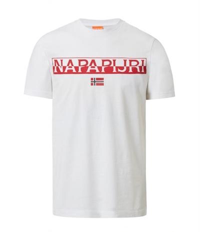 NAPAPIJRI T-Shirt Saras Solid Herren