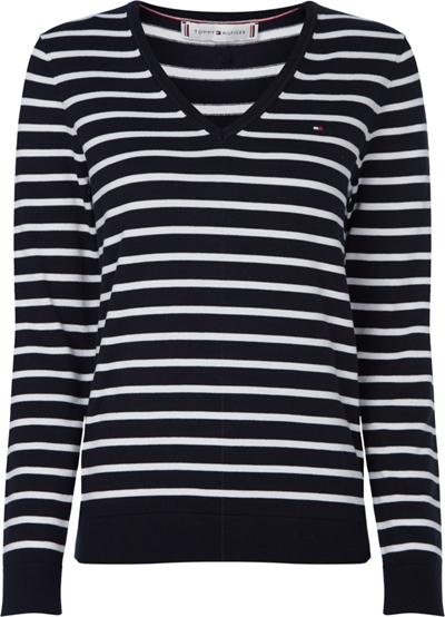 TOMMY HILFIGER V-Neck Sweater Damen