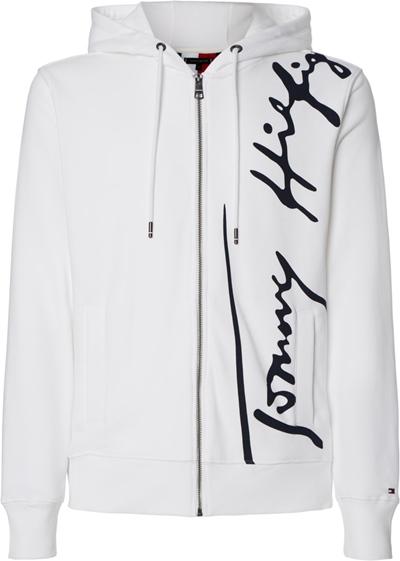 TOMMY Signature Hoode Zip Through