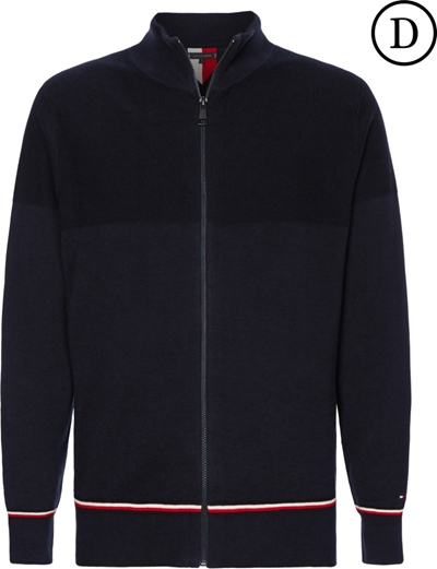 TOMMY HILFIGER Structure Jacke