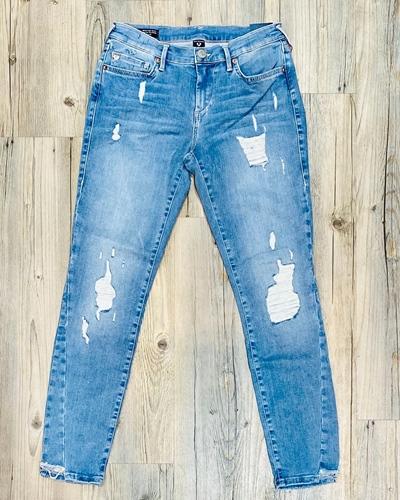 TRUE RELIGION Halle Lacey Jeans Damen