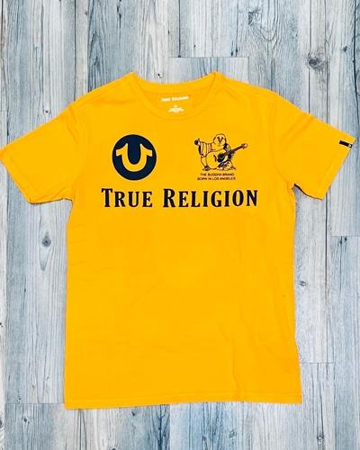 TRUE RELIGIONCrew SS Tshirt Allover Logo