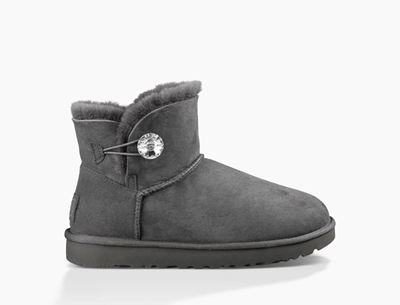 UGG Mini Bailey Button Bling Damen