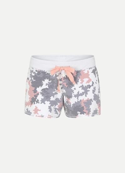 JUVIA Devore Camouflage Shorts