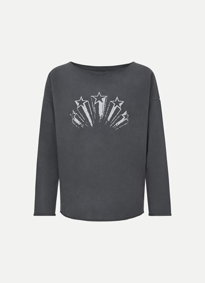 JUVIA Fleece Sweater Stars
