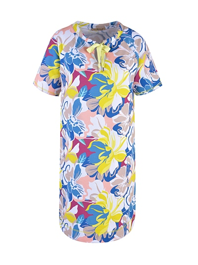 Smith & Soul Sweatdress colorful flower