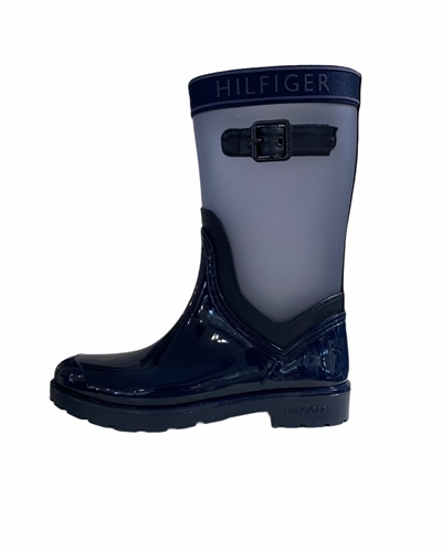 TOMMY Translucent Detail Rain Boot