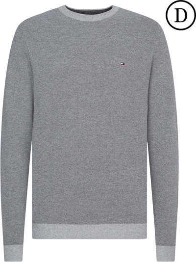 TOMMY Mouline Structure Crew Neck