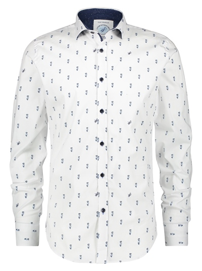 A FISH NAMED FRED Shirt Small Tulips