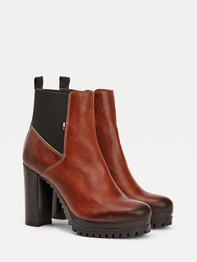 TOMMY JEANS Essential Cleated Heeled