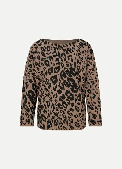 JUVIA Fleece Sweater Jaguar Damen
