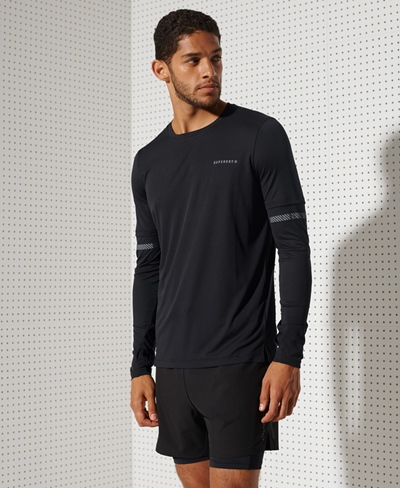 SUPERDRY Feather Weight Run LS Tee