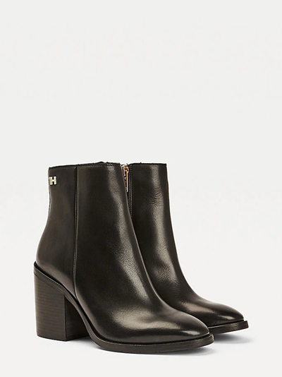 TOMMY Shaded Leather High Heel Boot