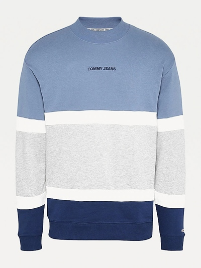 TOMMY JEANS Retro Colorblock High Crew