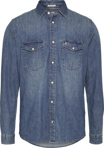 TOMMY JEANS TJM Western Denim Shirt
