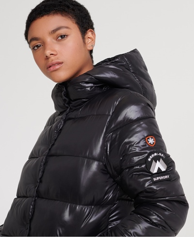 SUPERDRY High Shine Toya Puffer Damen
