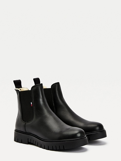 TOMMY JEANS  Warm Lined Chelsea Boot