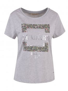 Smith & Soul T-Shirt  Flower Print Damen