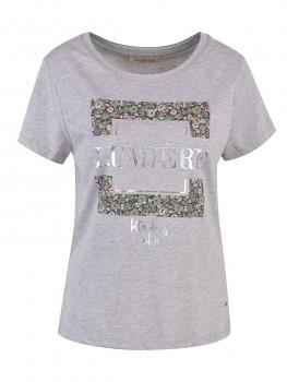 Smith & Soul T-Shirt  Flower Print Damen