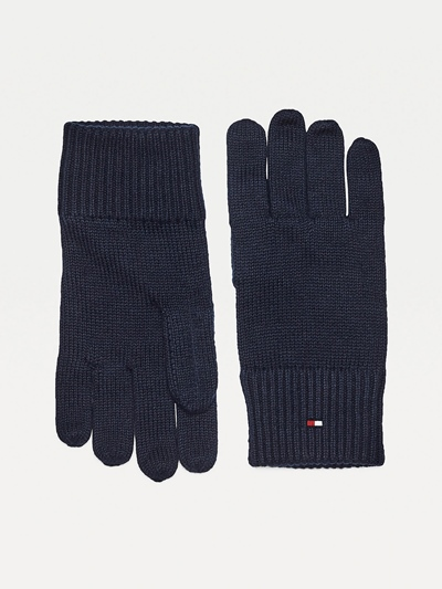 TOMMY HILFIGER Pima Cotton Gloves