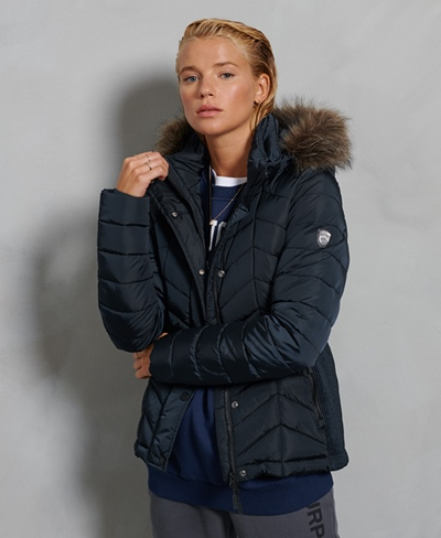 SUPERDRY Luxe Fuji Padded Jacket Damen