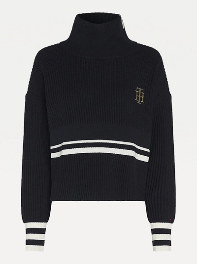 TOMMY HILFIGERVarsity High-NK Sweater LS