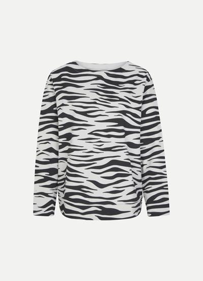 JUVIA Fleece Sweater Tiger Damen