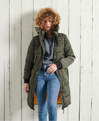 SUPERDRY Longline Chinook Damen